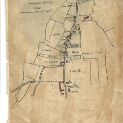 Catherington map 1816